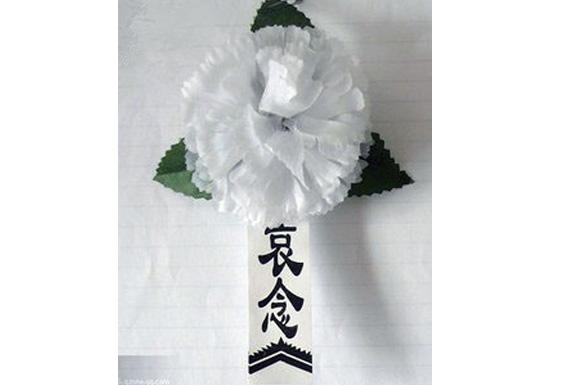 殡葬用品【小白花胸花】