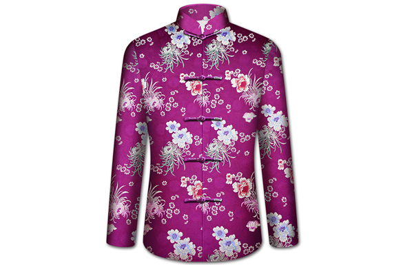 【祥瑞寿菊】女士寿衣全套