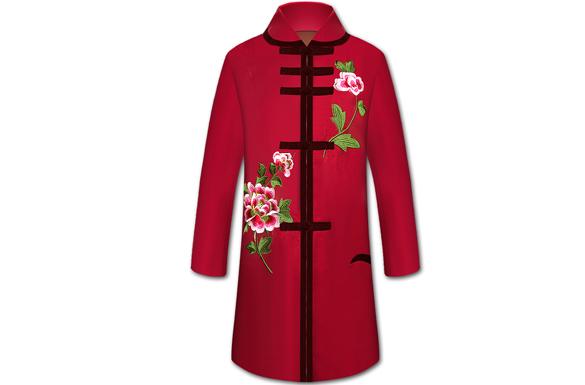 女款寿衣大衣系列【天姿国色】全套配齐