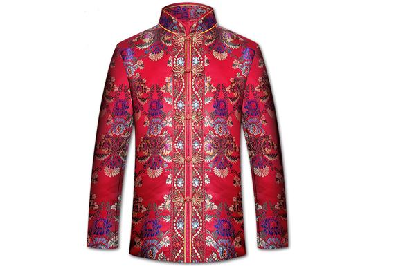 寿衣 高档重工刺绣女士七件套