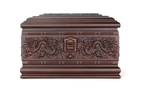 龙宫非洲小黑檀骨灰盒